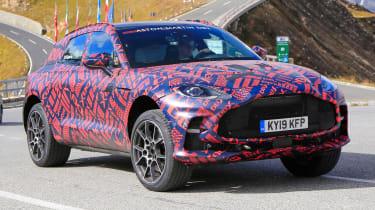 Aston Martin DBX S - spyshot 8