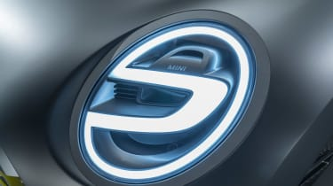 MINI Electric concept - front light