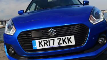 Suzuki Swift - front detail