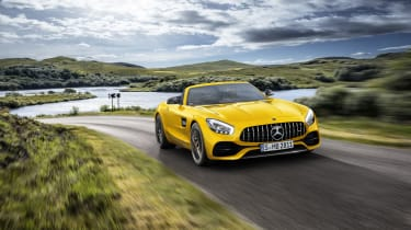 Mercedes-AMG GT S Roadster front outside