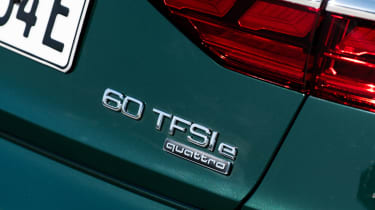 Audi A8 60 TFSI e - rear badge