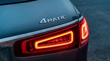 Mercedes GLS - 4Matic badge