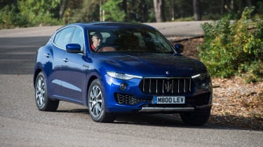 Maserati Levante used review - cornering front