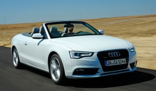 Audi A5 Cabriolet front tracking