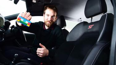 Ford Fiesta ST - long term third report Lego interior