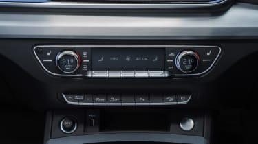 Audi Q5 Sportback - centre console