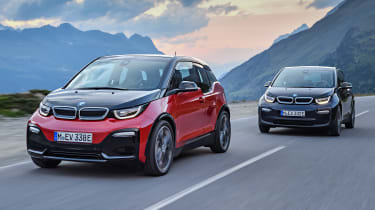 BMW i3 and i3S - front