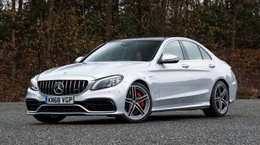 Mercedes-AMG C 63 S - front static