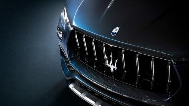 Maserati Levante Hybrid - grille