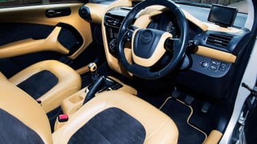 Searching for the Aston Martin Cygnet - interior
