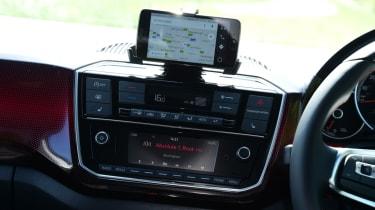 Volkswagen up! GTI infotainment