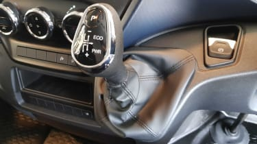 IVECO Daily - gearstick