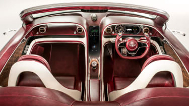 Bentley EXP 12 Speed 6e - interior overhead