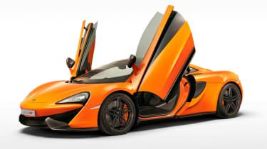McLaren 570S - doors open studio