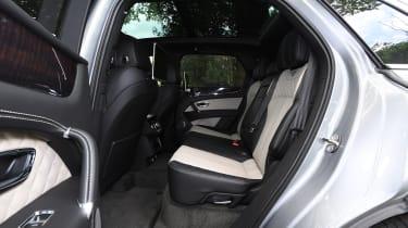 Bentley Bentayga V8 - Rear Seats