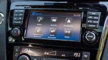 New Nissan Qashqai 2017 screen