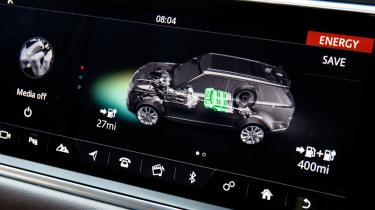 Range Rover Sport P400e - infotainment