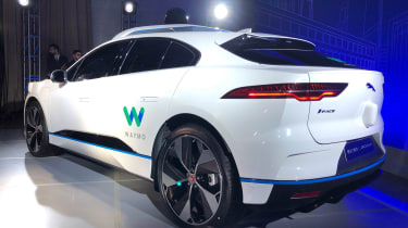 Jaguar Waymo I-Pace - reveal rear