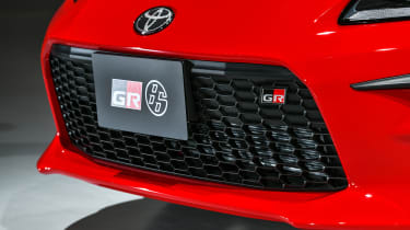 Toyota GR86 grille