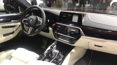 New BMW M5 - interior