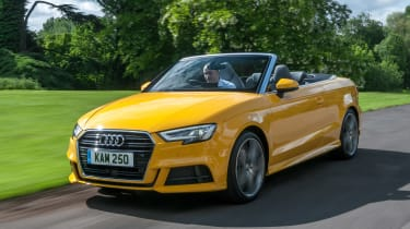 Audi A3 Cabriolet - front