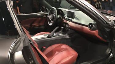 Mazda MX-5 RF - seats