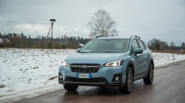Subaru XV - front tracking