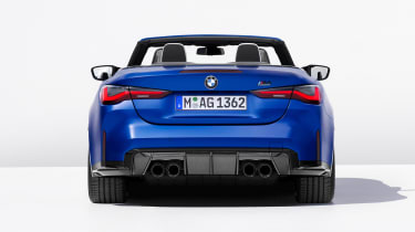 BMW M4 Competition Convertible - full rear