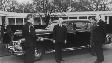 1947 Cadillac Fleetwood Series 75 Limousine and President Harry S. Truman