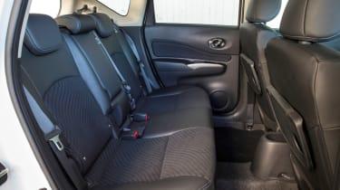Nissan Note rear seats