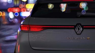 Renault Megane E-Tech Electric - rear teaser