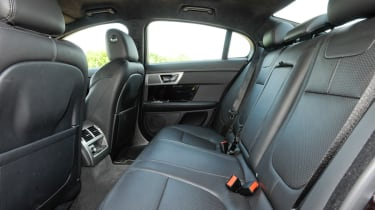 Jaguar XF rear seat