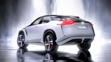 Nissan IMx concept - rear action