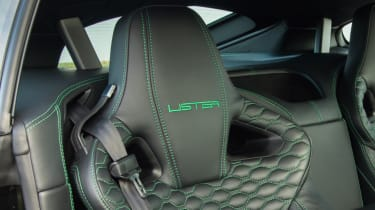 Lister Thunder seat bolster