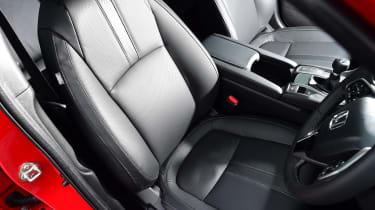 Honda Civic - front seat