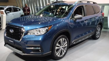 New Subaru Ascent SUV - front