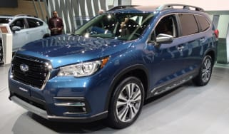 New Subaru Ascent SUV - front