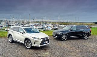 Lexus RX vs Volvo XC90 - header