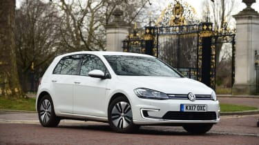 Volkswagen e-Golf - front static