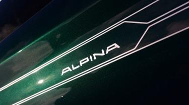 Alpina B4 S Coupe - badge
