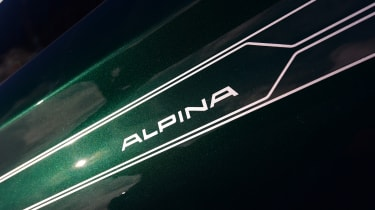 Alpina B4 S Coupe - badge