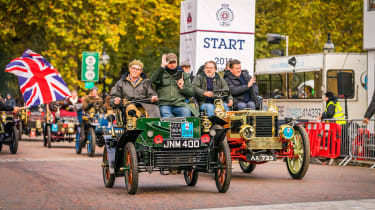 London to Brighton Veteran Car Run  -  steve start
