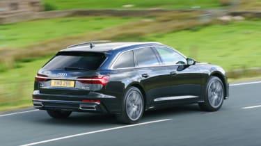 Audi A6 Avant - rear 3/4 tracking