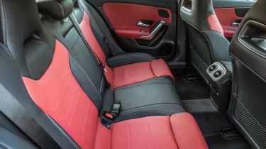 Mercedes A 250 e - rear seats