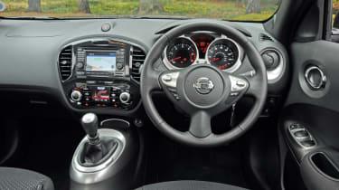 Nissan Juke Acenta Premium dash