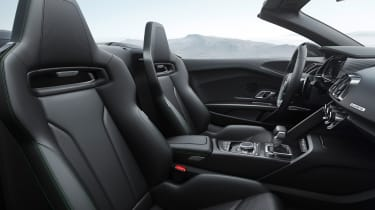 Audi R8 V10 Plus Spyder cabin