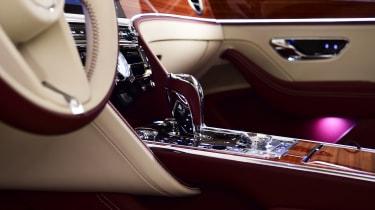 Bentley Flying Spur - studio interior detail