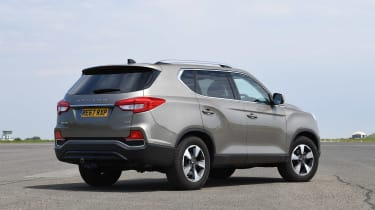 SsangYong Rexton - rear static