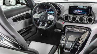 Mercedes-AMG GT - dash