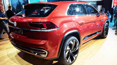 Volkswagen Atlas Cross Sport concept - New York rear
